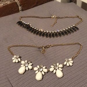 Bundle of Two JCrew Statement Necklaces